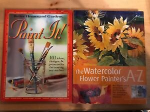 Paint It! & The Watercolor Flower Painter's A to Z
