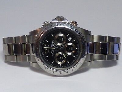 Invicta Men's Professional Speedway 9223 Stainless Steel Watch EUC
