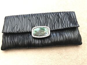 Black clutch with chain