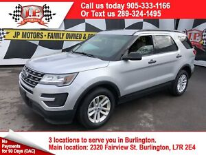 2016 Ford Explorer Automatic, Back Up Camera, 4x4
