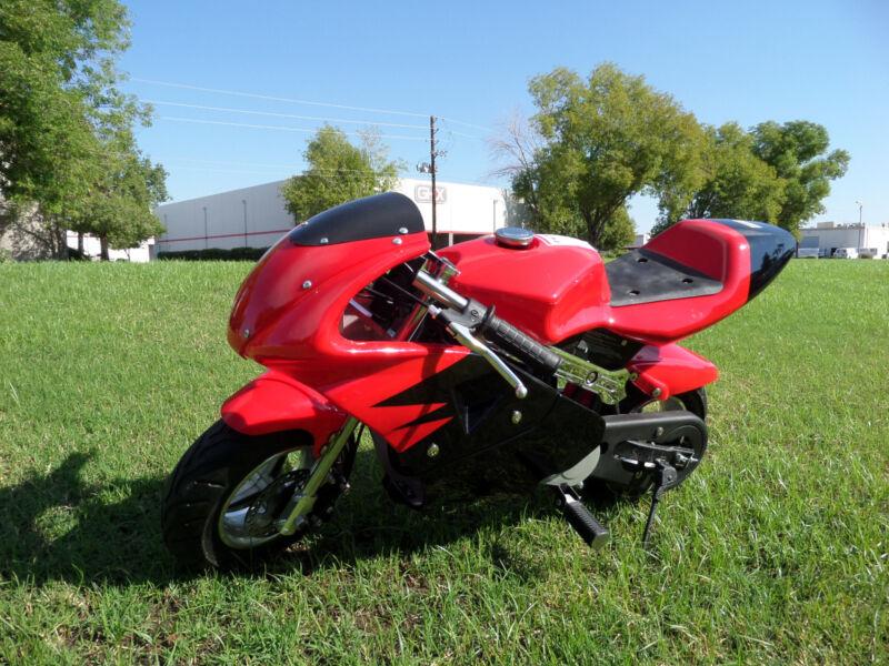 High Performance Honda clone  4 Stroke 40cc Red Pocket Bike Mini Bike