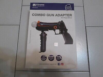 PS3 : COMBO GUN ADAPTER per Move - Nuovo ! Pistola per...