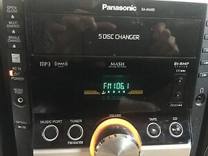 PANASONIC SA-AK450 HIFI 5 CD CHANGER STEREO SYSTEM 460 watts