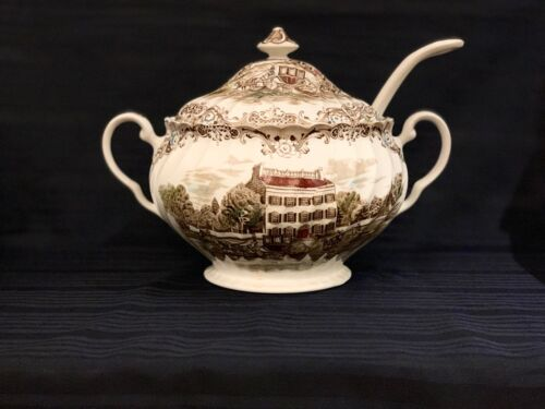 Heritage Hall Johnson Brothers Staffordshire Soup Tureen with Lid & Ladle