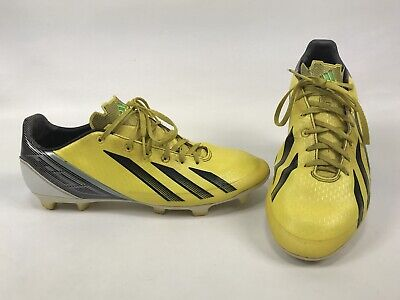 5fef724c4 Adidas Mens F30 TRX Soccer Cleat Size 10.5 Yellow MiCoach