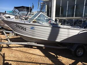 Savage 475 Shearwater Yamaha 70hp Outboard Motor Heavy Duty Trailer Blair Athol Port Adelaide Area Preview