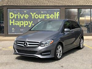 2015 Mercedes Benz B-Class 250 Sports Tourer/4MATIC/AWD/LEATHER/