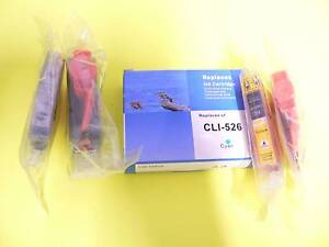 Compatible Ink for Canon MG6150, 6250 printers .  CLI525 & CLI526 Edwardstown Marion Area Preview