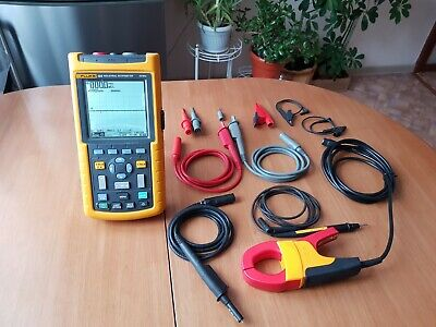 Fluke 125 Industrial Scopemeter 40mhz 2 Channel Scope Meter 125s