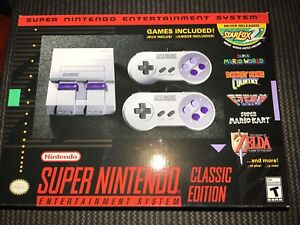 Brand new SNES Classic Edition for sale $160!!!