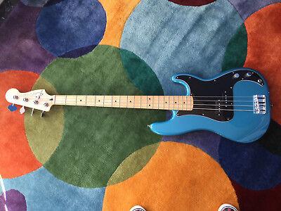 Fender Standard Precision Electric Bass Guitar - Lake Placid Blue