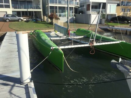 Catamaran Sail GBE 28 NZ