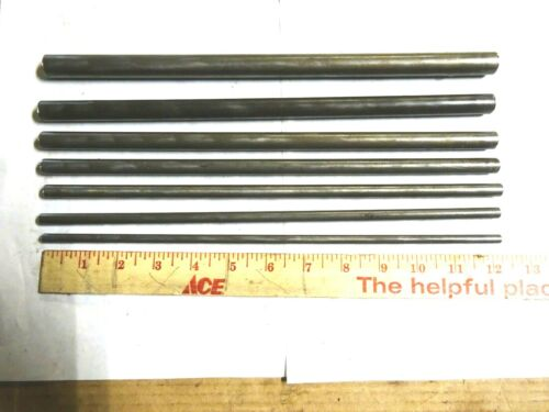 """7- ASSORTED SIZES OF ROUND 41L40  BAR STOCK 12"""" LONG"""