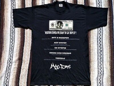 vtg Mac DRE T Shirt Thizzle bootleg RAP tee $100 Bill Bay Area hip hop Hyphy XXL, used for sale  Seattle