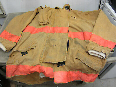 Size 52 3440 36 Morning Pride Fire Fighter Turnout Jacket 2003 Bit Dirty 17