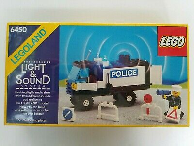Lego 6450 Classic Town Light & Sound Mobile Police Truck - 1980's - New NISB NIB