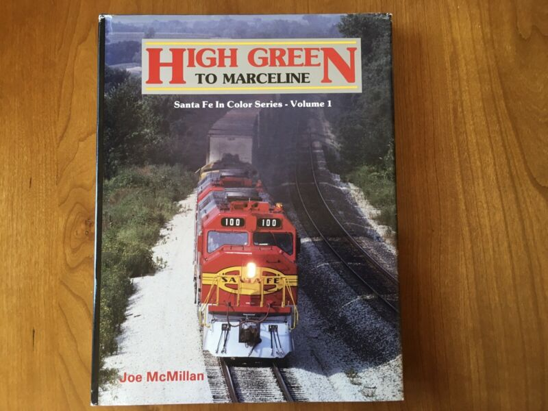 High Green To Marceline Santa Fe Color Series Book GREAT DEAL!!