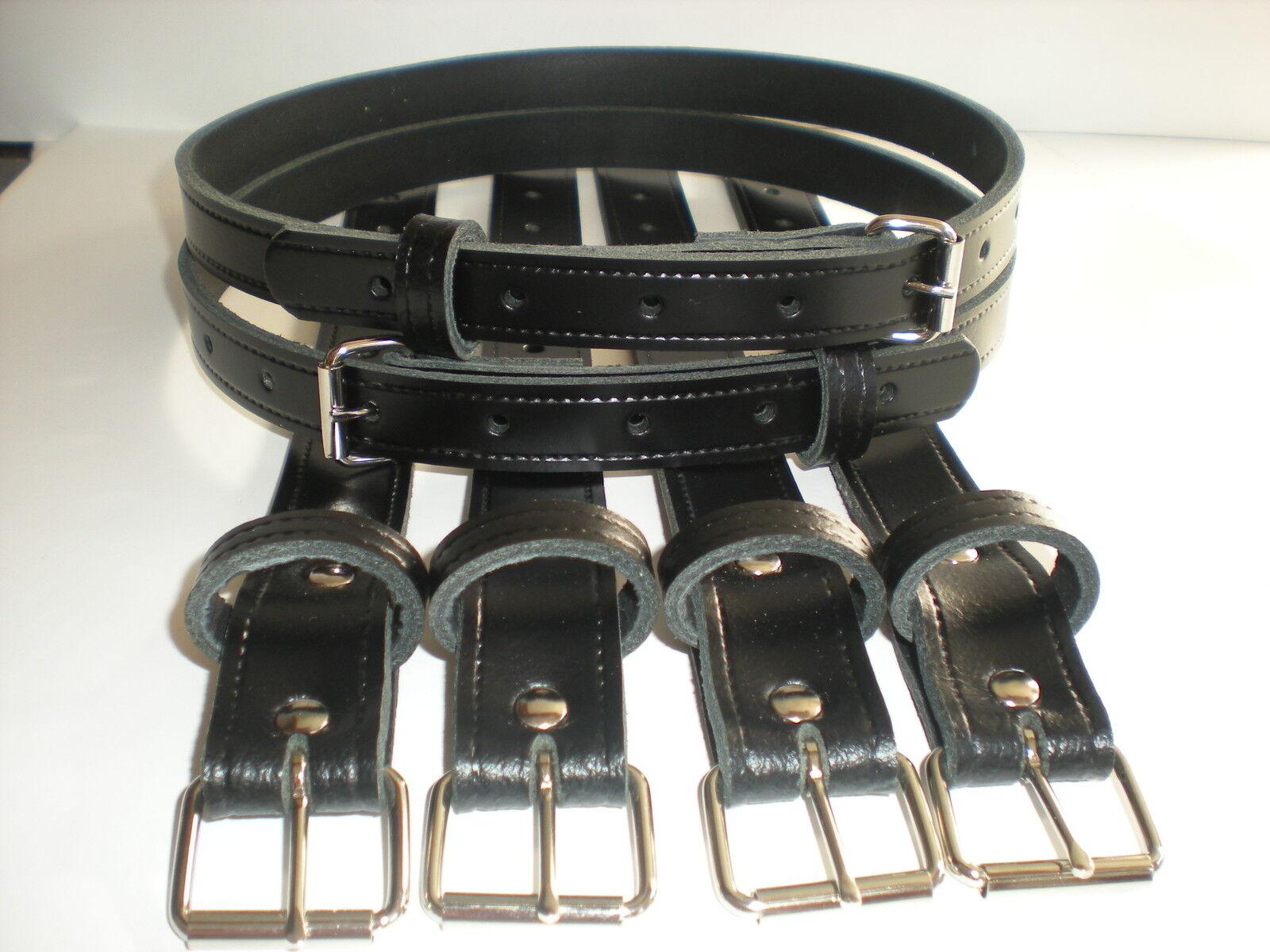 vintage pram real leather suspension straps in white picclick uk. Black Bedroom Furniture Sets. Home Design Ideas