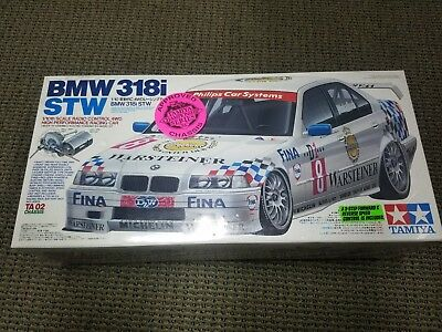 Tamiya BMW 318i STW Chassis TT-01 Type-E #58516 1/10 Scale RC Car Vintage 2012