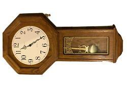 howard miller dual chime clock