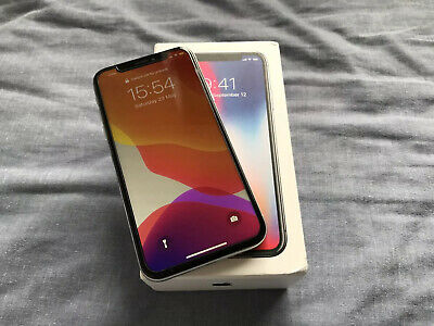 Apple iPhone X - 256GB Silver Unlocked