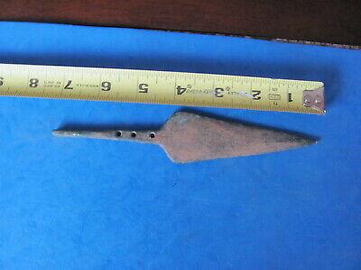 RARE  ANCIENT LURISTAN Bronze Spearhead 12th-8th cent. B.C.