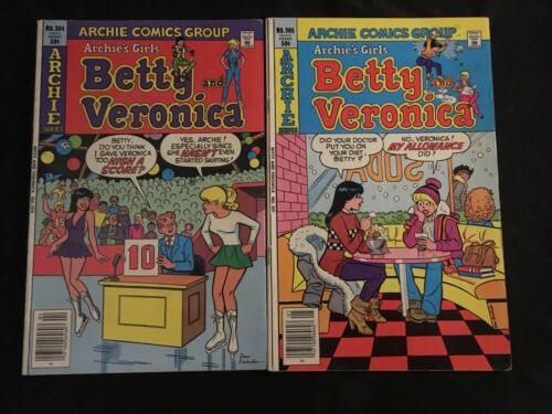 BETTY AND VERONICA #304, 305