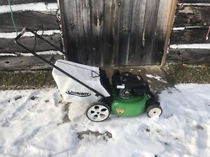 NEW LAWN BOY LAWNMOWER.