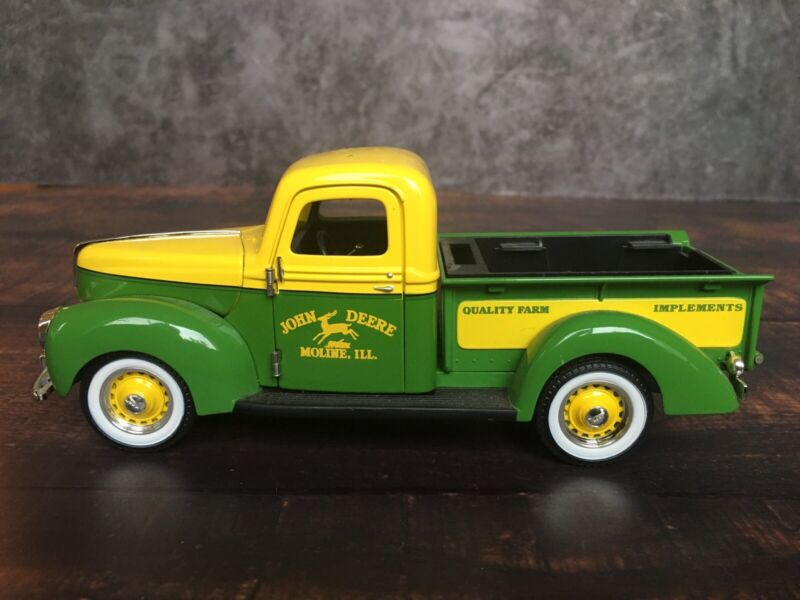 """Limited Edition 1940 Green Ford """"John Deere"""" Diecast Pickup by SpecCast 7"""""""