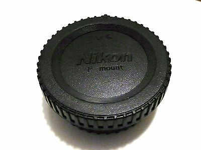 Camera SLRs Body Cap + Rear Lens Cap for Nikon SLR DSLR F Mount