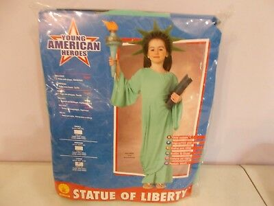 New Rubie's Statue of Liberty Costume Large 12 -14 Child's