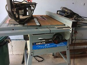 Table saw etc.