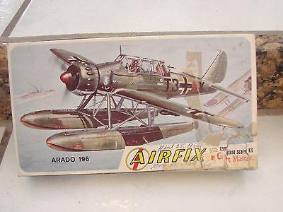 Airfix Craft Master Arado 196 1/72 plastic model kit vintage Aircraft USA Made