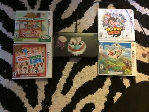 Nintendo 3DS XL w/ 3 games