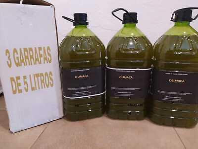 Aceite de Oliva Virgen Extra Olimaca Pack 3 botellas 5L