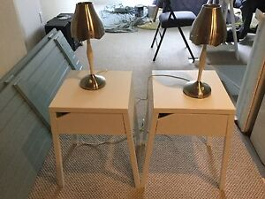 IKEA side tables and lamps Cambridge Kitchener Area image 1