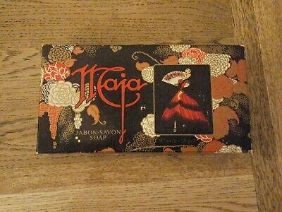 Vintage Jabon Maja Myrurgia Spanish Soap Set