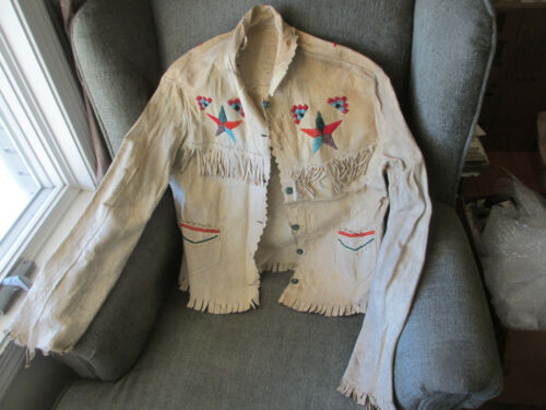 1800s OLD NATIVE AMERICAN CROW INDIAN GHOST DANCE JACKET GREENOUGH COLLECTION