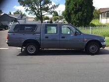 Holden rodeo automatic dual cab canopy tow bar roof racks ute Old Guildford Fairfield Area Preview