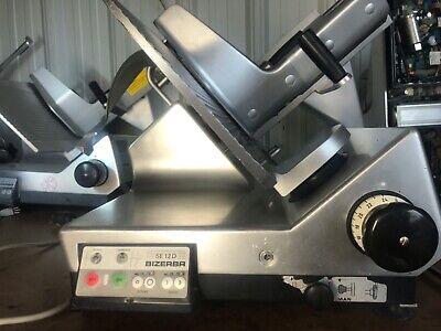 Bizerba Se12d Automatic Commercial Deli Meat Slicer