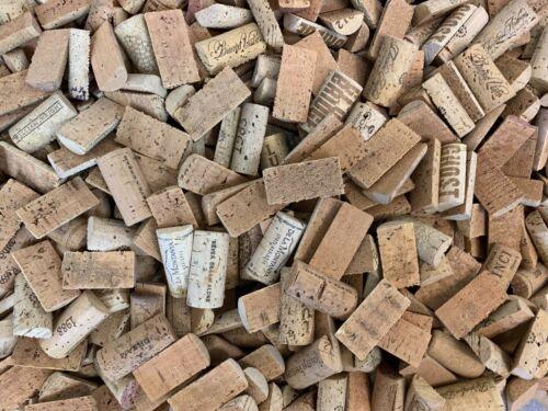 Wine Cork halves- 500 halves no synthetics or champagne