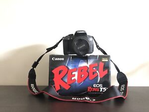 BRAND NEW! Canon Rebel T5i with Lens