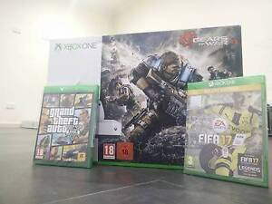 Xbox One S Gears of War 4 (1TB)+GTA5+FIFA 17 Deluxe - MEGA BUNDLE Mulgrave Monash Area Preview