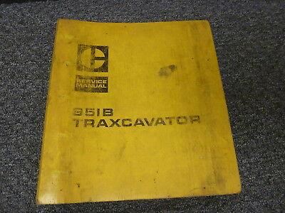 Caterpillar Cat 951b Traxcavator Crawler Loader Shop Service Repair Manual