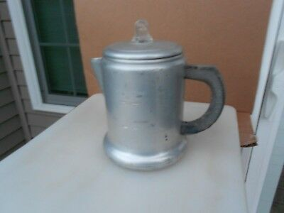 Vintage Sears Best Maid of Honor Aluminum Percolator Stovetop 8