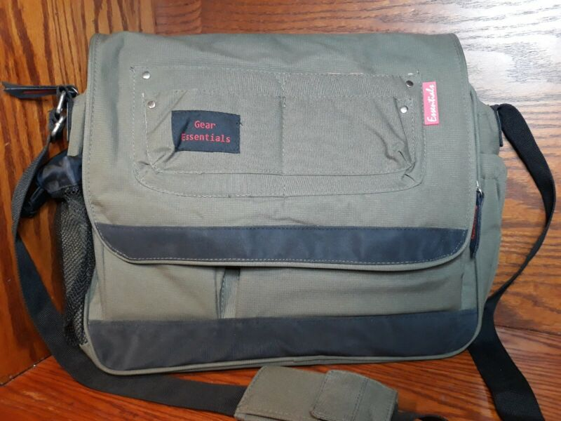 """Baby Essentials Gear Large Diaper Bag 16""""×12"""" Fast Free Ship"""