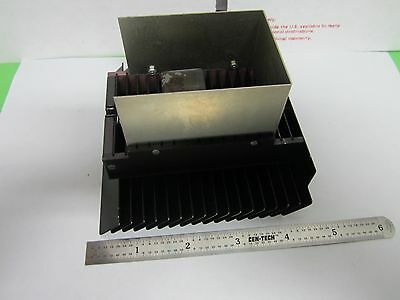 Microscope Part Heat Sink Lamp Polyvar Reichert Leica As Is Bing3-01