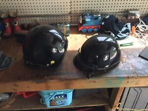 Two helmets for sale