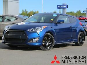 2016 Hyundai Veloster Turbo 6-SPEED | HEATED LEATHER | NAV |...