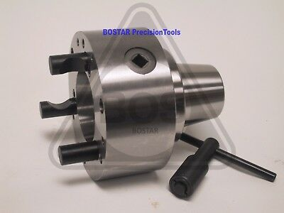 Bostar 5c Collet Lathe Chuck With D1 - 3 Backplate